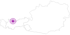 Unterkunft Zugspitz Resort in der Tiroler Zugspitz Arena: Position auf der Karte