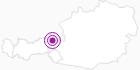 Unterkunft Gartenhotel Rosenhof bei Kitzbühel in Kitzbüheler Alpen - St. Johann - Oberndorf - Kirchdorf: Position auf der Karte