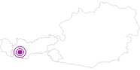 Unterkunft Hotel Garni Dr. Köhle in Serfaus-Fiss-Ladis: Position auf der Karte