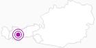 Accommodation Appartement Frischmann Ötztal: Position on map