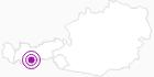 Unterkunft Grünwald Resort Sölden Ötztal: Position auf der Karte