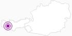 Unterkunft Haus Lina in St.Anton am Arlberg: Position auf der Karte