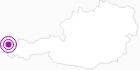 Unterkunft appartement-ennemoser im Bregenzerwald: Position auf der Karte