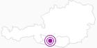Unterkunft Hacienda Mexicana in Hohe Tauern - die Nationalpark-Region in Kärnten: Position auf der Karte