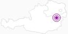 Unterkunft Brandtner Gloggnitz in Donau Niederösterreich: Position auf der Karte
