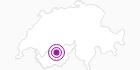 Unterkunft Chalet Arthur in Crans - Montana: Position auf der Karte