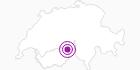 Unterkunft Chalet Gisela in Brig / Aletsch: Position auf der Karte