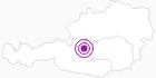 Unterkunft Bergkamerad in der Hochsteiermark: Position auf der Karte