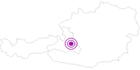 Unterkunft Amadeo Apartments Flachau in der Salzburger Sportwelt: Position auf der Karte