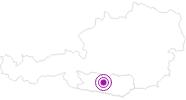 Unterkunft Landal Bad Kleinkirchheim in der Region Nockberge Bad Kleinkirchheim: Position auf der Karte