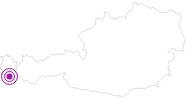 Unterkunft Landal Hochmontafon in Montafon: Position auf der Karte
