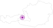 Accommodation Landal Rehrenberg in Saalbach-Hinterglemm: Position on map
