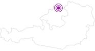 Unterkunft Landal Marina Lipno im Mühlviertel: Position auf der Karte