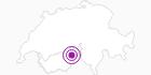 Unterkunft Wellnesshotel Salina Maris in Brig / Aletsch: Position auf der Karte