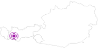 Unterkunft Apart - Hotel Bergkönig in Serfaus-Fiss-Ladis: Position auf der Karte