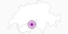 Unterkunft Chalet Monte Leone 2-Zimmerwohnung Erdgeschoss in Brig / Aletsch: Position auf der Karte