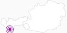 Unterkunft Bergfrieden Bed&Breakfast in Paznaun - Ischgl: Position auf der Karte