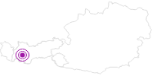 Unterkunft Apart Bergkristall in Serfaus-Fiss-Ladis: Position auf der Karte