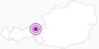 Unterkunft VITAL & SPORTHOTEL BRIXEN in den Kitzbühler Alpen - Brixental: Position auf der Karte