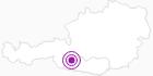 Unterkunft Haus Alpenblick in Hohe Tauern - die Nationalpark-Region in Kärnten: Position auf der Karte