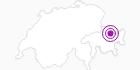 Unterkunft Bergrestaurant Gotschnagrat in Davos Klosters: Position auf der Karte