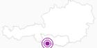 Unterkunft Appartement Sonja Nassfeld, Sonnleitn in Nassfeld-Pressegger See - Lesachtal - Weissensee: Position auf der Karte