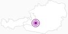 Accommodation Steinadler in Obertauern: Position on map