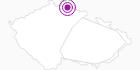 Unterkunft Sokolská Chata Isergebirge: Position auf der Karte