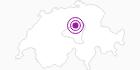 Accommodation Christine Schnurrenberger in Schwyz: Position on map