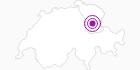 Unterkunft Chalet Eisabeth im Heidiland : Position auf der Karte