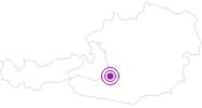Unterkunft Gästehaus Fischerkeusche-Appartements am Lungau: Position auf der Karte
