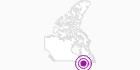 Unterkunft Hôtel Mont Gabriel in Québec City: Position auf der Karte