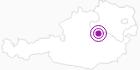 Unterkunft Berghütten Ferienwohnungen Offenau im Mostviertel: Position auf der Karte