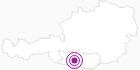 Accommodation Nagelerhof at the Lake Millstatt: Position on map