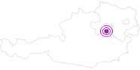 Unterkunft Spindlhof im Mostviertel: Position auf der Karte