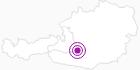 Unterkunft Ferienwohnungen E. Bogensperger in Obertauern: Position auf der Karte
