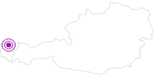Unterkunft Fastenpension Engel im Bregenzerwald: Position auf der Karte
