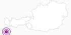 Unterkunft Hotel Edelweiss in St.Anton am Arlberg: Position auf der Karte