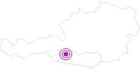 Unterkunft Alpincenter Weißseehaus in Hohe Tauern - die Nationalpark-Region in Kärnten: Position auf der Karte
