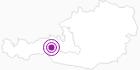 Unterkunft Appartement Wildkogel in Nationalpark Hohe Tauern: Position auf der Karte