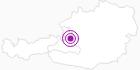 Accommodation Apartmenthaus Vergissmeinnicht in Hallein-Dachstein West: Position on map