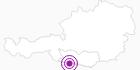 Unterkunft Haus Montanara in Nassfeld-Pressegger See - Lesachtal - Weissensee: Position auf der Karte