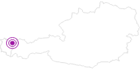 Unterkunft Berghof Felder, Natur und Ruhe pur im Kleinwalsertal: Position auf der Karte