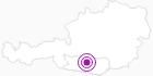 Unterkunft Schinderhanneshütte in Hohe Tauern - die Nationalpark-Region in Kärnten: Position auf der Karte