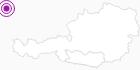 Unterkunft Guggahonschen Hütte in der Region Nockberge Bad Kleinkirchheim: Position auf der Karte