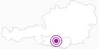 Unterkunft Almhaus Diana in der Region Nockberge Bad Kleinkirchheim: Position auf der Karte