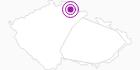 Accommodation Spartak Rokytnice Czech Krkonose Mountains: Position on map