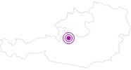 Unterkunft Apartment Shelbourne im Salzkammergut: Position auf der Karte