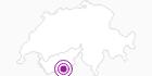 Unterkunft Couronne in Zermatt: Position auf der Karte