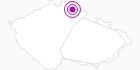 Unterkunft Penzion Borůvka Tschechisches Riesengebirge: Position auf der Karte